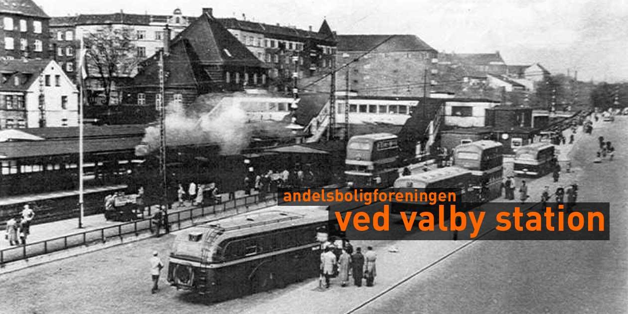 andelsboligforeningen ved valby station